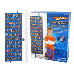 Hot Wheels Over the Door Display Case - Got Cars? Holds 120 vehicles total.  Includes clips to hang on door and officially licensed by Hot Wheels.