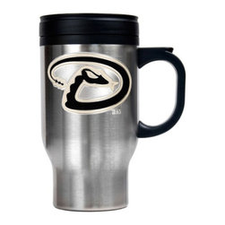 Great American Products - Great American MLB Logo Stainless Steel Travel Mug Multicolor - TM2101-4 - Shop for Travel Mugs and Tumblers from Hayneedle.com! About Great American ProductsWith beginnings as a belt buckle maker in Texas Great American products has become the leader in licensed metal emblems and the products that they adorn. With licenses with every major sports league Great American products a wide range of unique products like drinkware coolers and kitchen accessories for the dedicated fan.