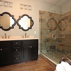 Craftsman Bathroom by Drum Custom Renovations