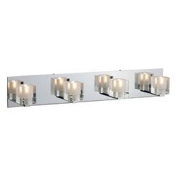 Joshua Marshal - Blocs 4-Light Bath Vanity - Blocs 4-Light Bath Vanity