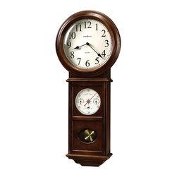 Howard Miller - Howard Miller 82nd Anniversary Edition Pendulum lWall Clock   Crowley - 625399 Crowley