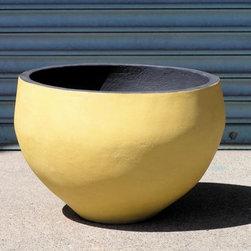 Small Round Planter - Concrete
