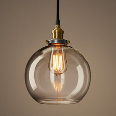 Glass Café Filament Pendant