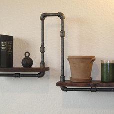 Eclectic Display And Wall Shelves  by Etsy