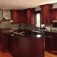 Contemporary Kitchen Countertops by QUALITY GRANITE & MARBLE