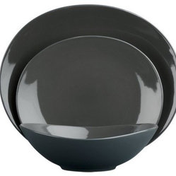 Graphite Dinnerware