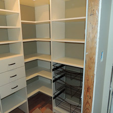 Traditional Closet by Bella-Systems Philly