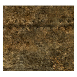 Removable Wallpaper-Rusty Siding-Peel & Stick Self Adhesive, 24x96 - Couture WallSkins.  Your wall will love you for this.