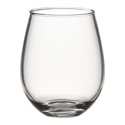 Acrylic Stemless Wineglass - A way to dress up a picnic is with acrylic wine glasses.