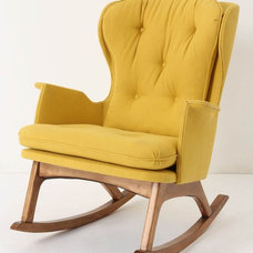 Midcentury Rocking Chairs by Anthropologie