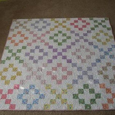 Where Creativity Blossoms: Block 13: Home Sweet Home Quilt Along – Three Trees f