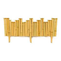 """Bamboo Border - 7/8"""" D x 8"""" H x 23"""" L - 5 Piece Bundle - Bamboo Border - 7/8"""" D x 8"""" H x 23"""" L - 5 Piece Bundle"""