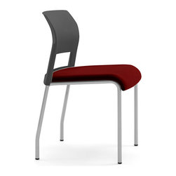 Steelcase - Steelcase Move Multiuse Chair, Platinum Frame and Glides - Stock up on the most comfortable seat in the house with this multiuse chair. Stack them up to save space or spread them around your dining room or kitchen table for daily use. The innovative seat and back design will keep you supported whether you're sharing a meal or writing a novel.