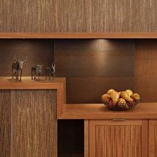 Modern Kitchen Cabinets by FINNE Architects