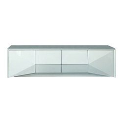 Rossetto - Sapphire Big Buffet in White - Features: