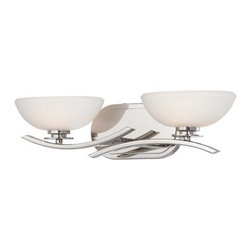 Minka Lavery - Minka Lavery 6922 2 Light Bathroom Vanity Light from the Signatures Collection - Two Light Bathroom Vanity Light from the Signatures CollectionFeatures: