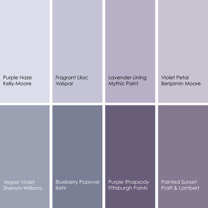 Dreaming in color 8 enchanting purple bedrooms visbeen - Lavender paint color schemes ...