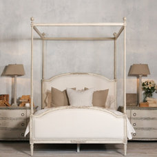 Mediterranean Canopy Beds by The Bella Cottage