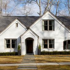 Traditional Exterior by Mark WIlliams Design Associates
