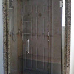 Neo-Angle Shower Enclosures - Allstate Glass
