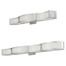 contemporary bathroom lighting and vanity lighting by Lumens