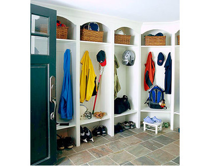 Mudroom Ideas: Locker Room