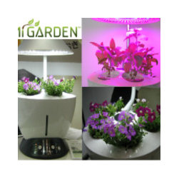 Mi Garden - The Mi Garden is a plant growing system complete with an integrated grow light, automatic watering system and a micro-controller that handles all of the watering and lighting. Choose your type of plant and its status, and then the system handles all the rest for you. All you need to do is occasionally monitor water and nutrient levels.