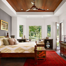 Asian Bedroom by Spaces Designed, Interior Design Studio, LLC