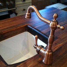 Traditional Kitchen Countertops by Woodology