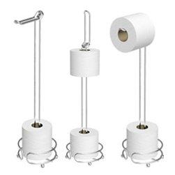 Taymor - Taymor The Flipper Toilet Tissue Holder - Satin Nickel - The Flipper Toilet Tissue Holder by Taymor