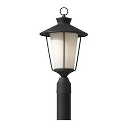 Murray Feiss - 1 Bulb Textured Black Outdoor Lighting - - cUL Wet Approved.
