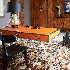 Modern Desks And Hutches by Jamie Herzlinger