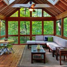 Traditional Porch by Custom Design/Build, Inc.