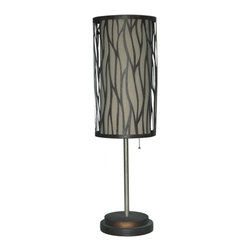 Crestview Collection - Crestview Collection CIAER111 Hidden Path Table Lamp - Crestview Collection CIAER111 Hidden Path Table Lamp