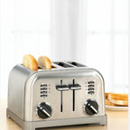 Cuisinart Classic Brushed Chrome Toaster - This handsome toaster will look great with your stainless steel appliances (or you can opt for it in red), and it has big fat slots to handle your big bagels.