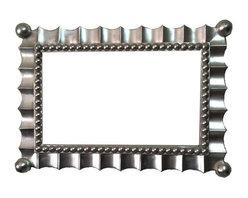 Fancydecor - 16x26 Rectangle Silver Mirror Frame Unique Modern Design Decorative Frame - Rectangle Gold Mirror frame. 16 x 26
