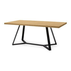 Domitalia - Domitalia | Archie-L-200 Rectangular Table - Design by Arter & Citton.