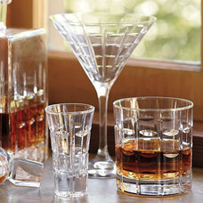 Contemporary Everyday Glassware by Pottery Barn