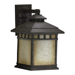 Quorum International - Quorum International 7362 Single Light Large Outdoor Wall Sconce from the Denmar - Single Light Large Outdoor Wall Sconce from the Denmark CollectionFeatures: