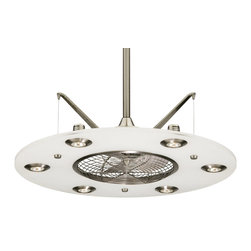Fanimation - Fanimation Cumulos Tropical Ceiling Fan X-WP0284PF - Eye catching design, a fan, a light fixture, a remarkable center piece for any room in your house.
