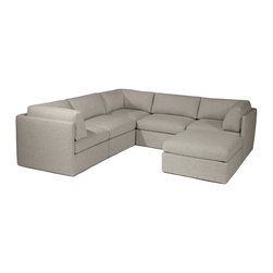 Thayer Coggin - Design Classic 1076 Sectional by Milo Baughman from Thayer Coggin - Thayer Coggin Inc.