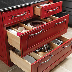 Base Cooking Center - Keep all your cooking necessities within reach with this versatile cooking center. Back it up to our Island End Cap to create a dynamic and functional storage solution.