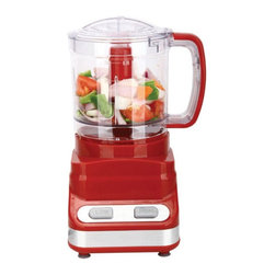 Brentwood - Brentwood Food Processor Red Multicolor - FP548 - Shop for Choppers and Food Processors from Hayneedle.com! About Brentwood Appliances Inc.With a product line spanning from coffee makers and can openers to Dutch ovens sauce pans and more Brentwood Appliances Inc. proudly offers an excellent selection of small appliances and cookware. Committed to keeping customers satisfied Brentwood Appliances focuses on providing best-quality best-priced products and top-notch customer service.