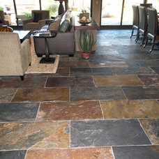 traditional floor tiles by Stone & Pewter Accents