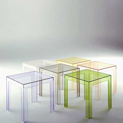 Kartell - Jolly Side Table - Quick Ship | Kartell - Design by Paolo Rizzatto.