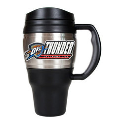 Great American Products - Great American NBA 20 oz. Travel Mug Multicolor - BTM2201-14 - Shop for Travel Mugs and Tumblers from Hayneedle.com! About Great American ProductsWith beginnings as a belt buckle maker in Texas Great American products has become the leader in licensed metal emblems and the products that they adorn. With licenses with every major sports league Great American products a wide range of unique products like drinkware coolers and kitchen accessories for the dedicated fan.