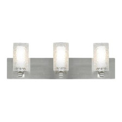LBL Lighting - LBL Lighting Rock Candy Bath 3 Light Bathroom Vanity Light - Features: