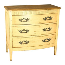 EuroLux Home - New Colonial Bow Front Chest of Drawers 3 - Product Details