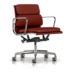 Eames Soft Pad Management Chair, Standard Leather