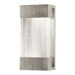 Fine Art Lamps - Crystal Bakehouse Clear Crystal Sconce, 810850-33ST - This sconce supports a hand-crafted block of crystal shards. When the sconce is illuminated, light shines up onto the wall above and down into the crystal, accentuating the internal textures and producing a serenely seductive glow.